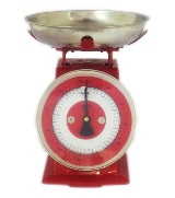 Red Kitchen Scale - 5kg max