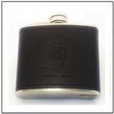 Jim Beam Leather Hip Flask 5 oz