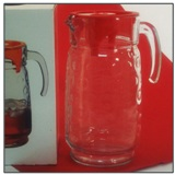 Rings Water Jug with Red Lid - 1.85 L
