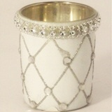 Votive Candle Holder White - 7 * 6cm Diameter