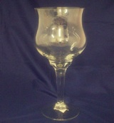Glass Candle Holder 31 * 13cm Diameter