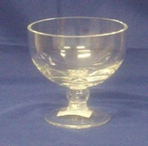 Footed Glass Bowl 11.5 * 12cm Diameter