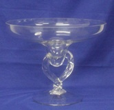 Footed Glass Bowl 23 * 29cm