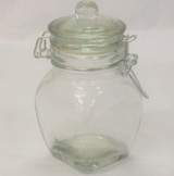 Glass Spice Jar 450ml - 15cm (Height)