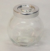 Glass Tilt Spice Jar 7.5cm (Height)