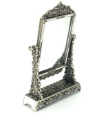 Antique Look silver Standing Mirror 16.4*4.5*25cm