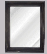 Brown iron Wall Mirror - 70cm