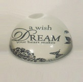 Glass Paperweight - Dream 9.8cm
