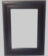 Black Lacquer Wall Mirror 82 * 61cm