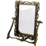 Antique look Standing Mirror 16.6*3.5*20.6cm
