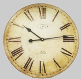 Hanging Wall Clock - 38.5cm Diameter