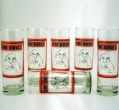 6 Pc Zombie Glasses (325ml)