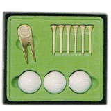 Golf Kit Set in Display Box - Including Pitchfork & Marker , 3 G