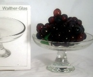Astoria Footed Glass Dish- 17cm