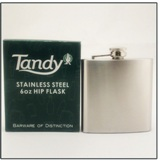 Mirror Finish Hip Flask 6 oz