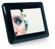 "7"" Digital Photo Frame - Black"