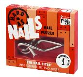 Hard as Nails Puzzle - The Nail Biter