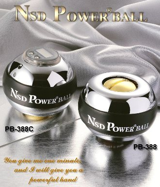 NSD Power Ball - Blue (Sound & Counter)