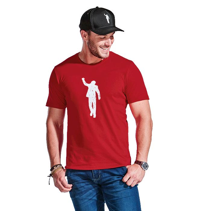 466/64 Mens 155g T-Shirt - Avail in: Black, Red or White