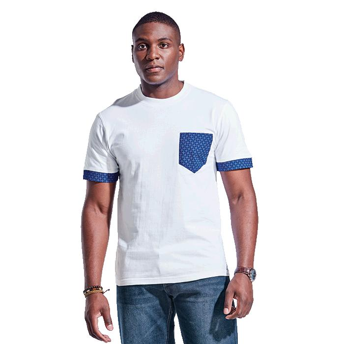 Barron Mens 160g Bokang T-Shirt - Avail in: Navy/Navy, Red/Red o