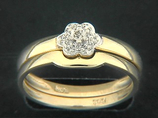 Flower Diamond Twinset