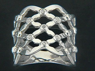 Netted Cubic Ring