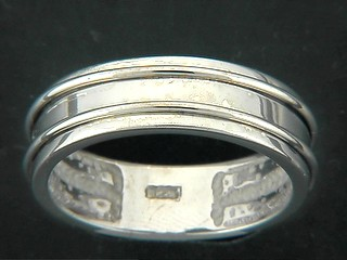 Flat Double Round Bar Ring