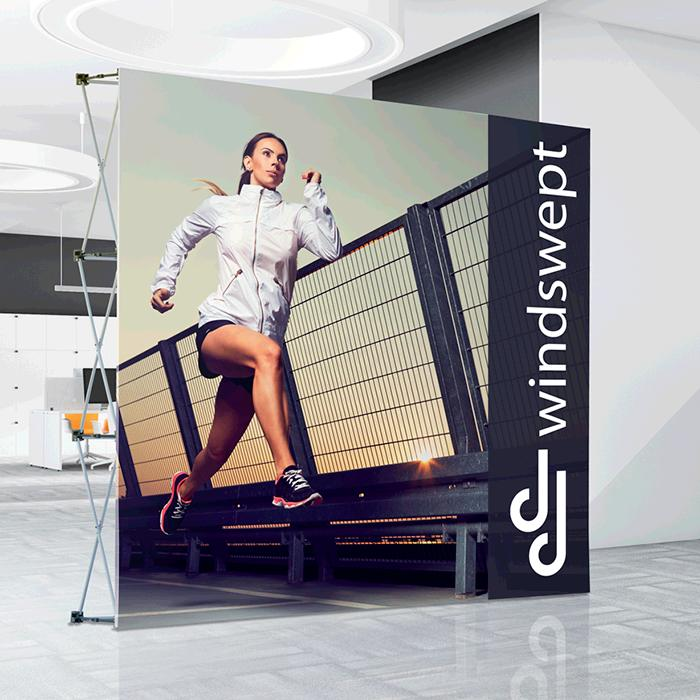 Tension Banner Wall 2.25m x 2.25m Aluminium