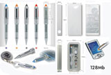 1GIG Flash Memory pen,keyholder & more
