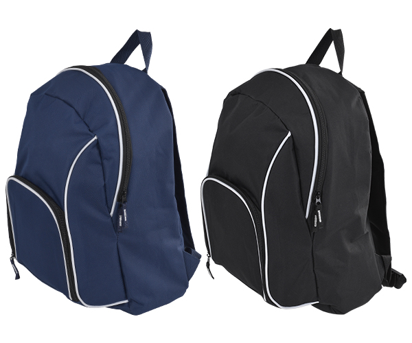Zac Back Pack - Avail in: Black, Navy