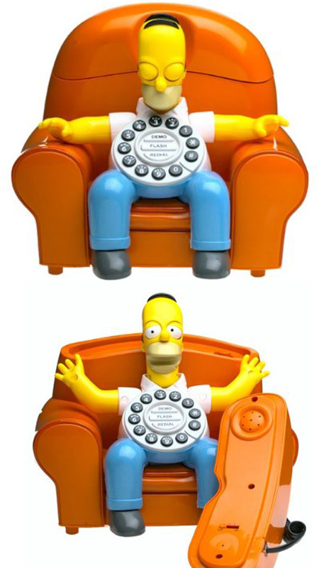 Simpsons Phone