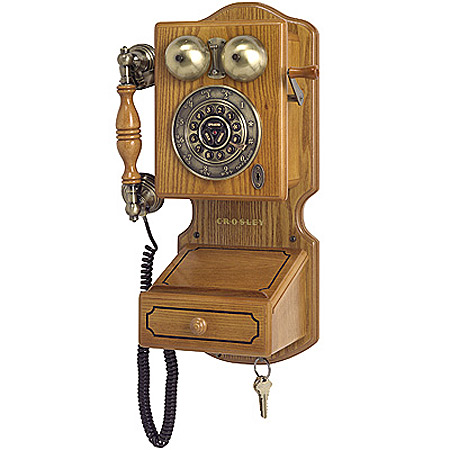 Wall Mount Vintage Style Phone