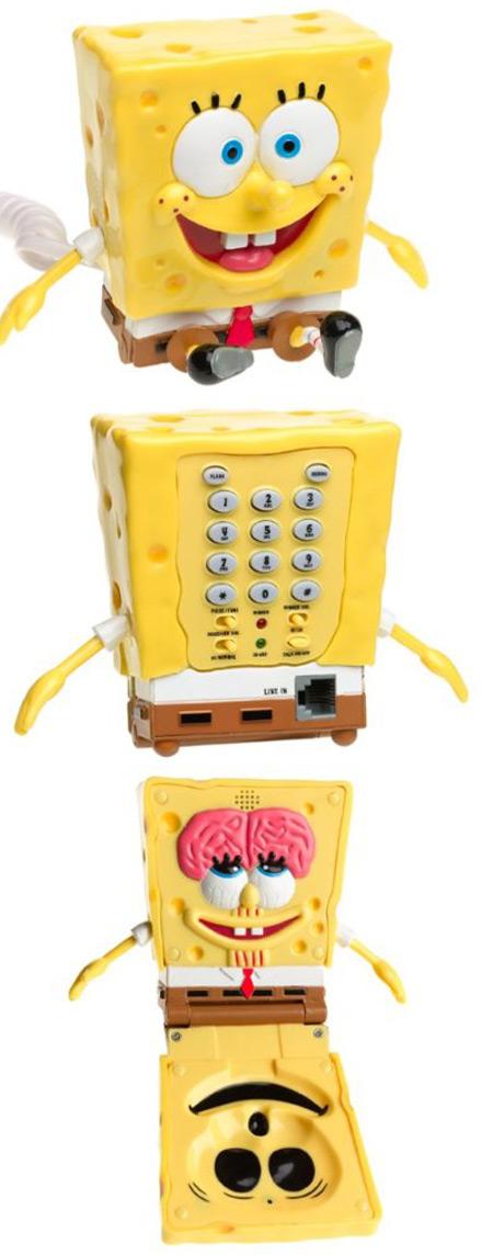 SpongeBob Flip Phone