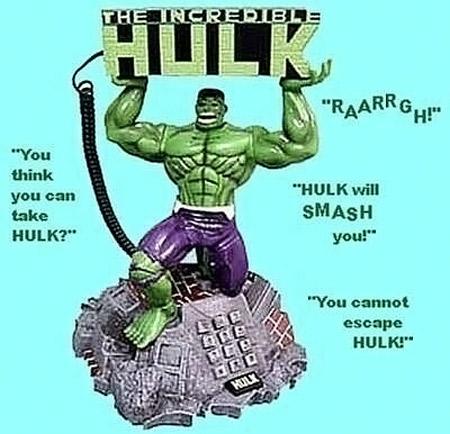 The Incredible Hulk Animated Phone
