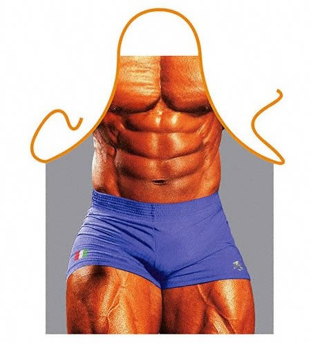 Muscle Man Cooking Apron