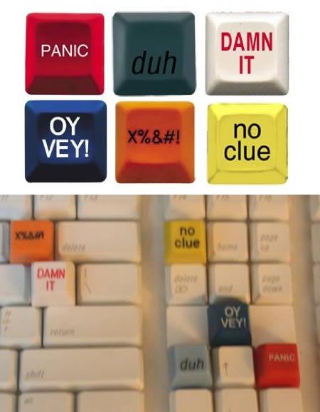 Novelty Computer Keys