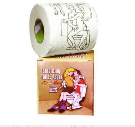 Sexy Toilet Paper