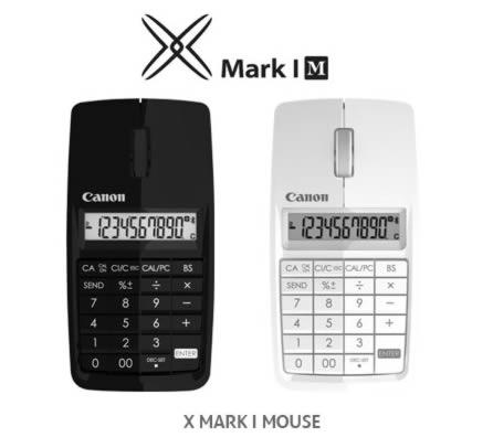 X Mark I: mouse + calculator