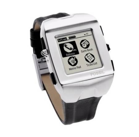 Fossil FX2008: palm + wristwatch