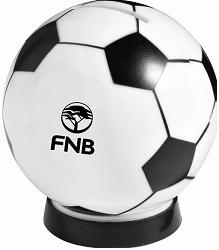 Soccer ball money box