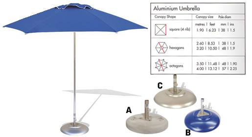 Aluminium Promotional Umbrella