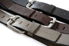 Jekyll & Hide Leather Belt o4 - Black, Brown, Washed Grey Cow