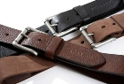 Jekyll & Hide Leather Belt o9 - Black, Brown, Nubuck Brn Pullup
