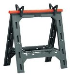 Big Jim Sawhorse Work Centre- Black / Orange