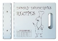 A5 Chef Recipe Portfolio Folder With 5 Dividers - Avail In: Whit