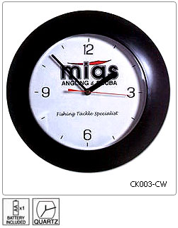 Fully customisable Wall Clock - Design 3 - Manufactured to order