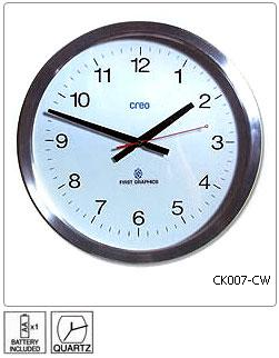 Fully customisable Wall Clock - Design 7 - Manufactured to order