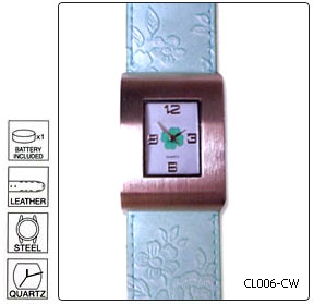 Fully customisable High Fashion Wrist Watch - Design 6 - Manufac