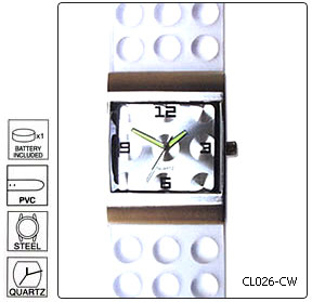 Fully customisable High Fashion Wrist Watch - Design 26 - Manufa