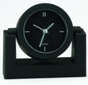 Swivel head desk clock black